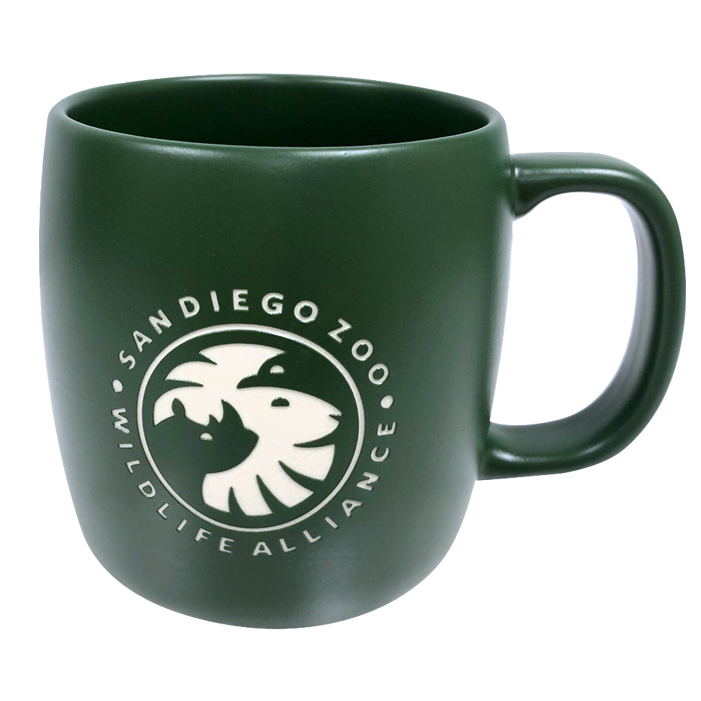 San Diego Zoo Wildlife Alliance Matte Green Mug
