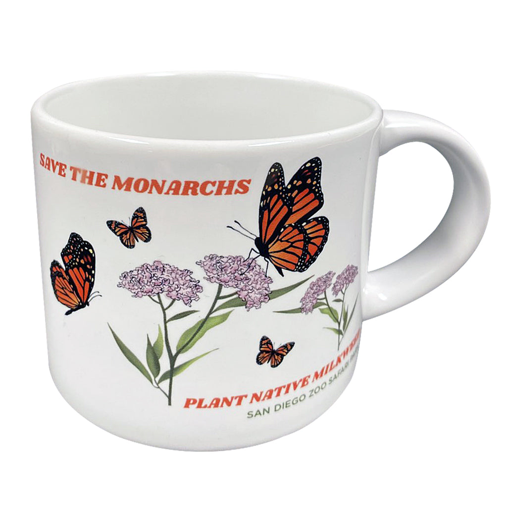 Save The Monarchs Butterfly Mug