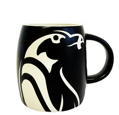 Etched Penguin Mug