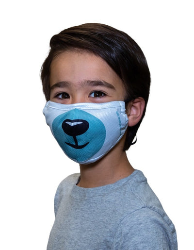 POLAR BEAR KIDS FACE MASK