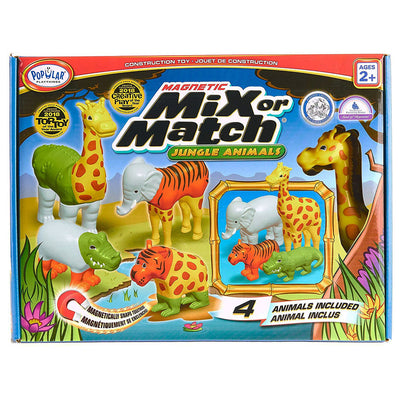 Zoo Animal Mix Or Match Play Set