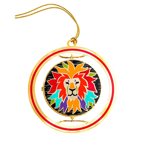 Lion Spin Ornament