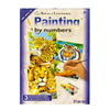 Activity Kit: Painting By Numbers - Jungle Cat Set