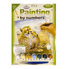 Activity Kit: Painting By Numbers - Cheetah