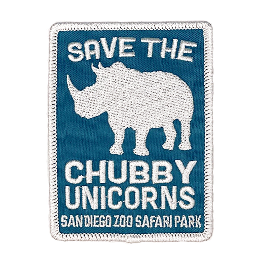 Save the Chubby Unicorns Souvenir Patch