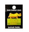 Safari Park Entrance Souvenir Pin