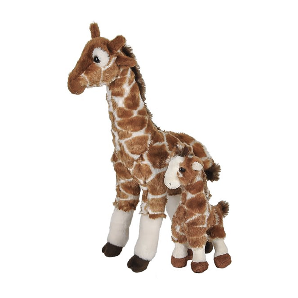 Giraffe Mom & Baby Plush