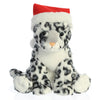 Holiday Snow Leopard Plush
