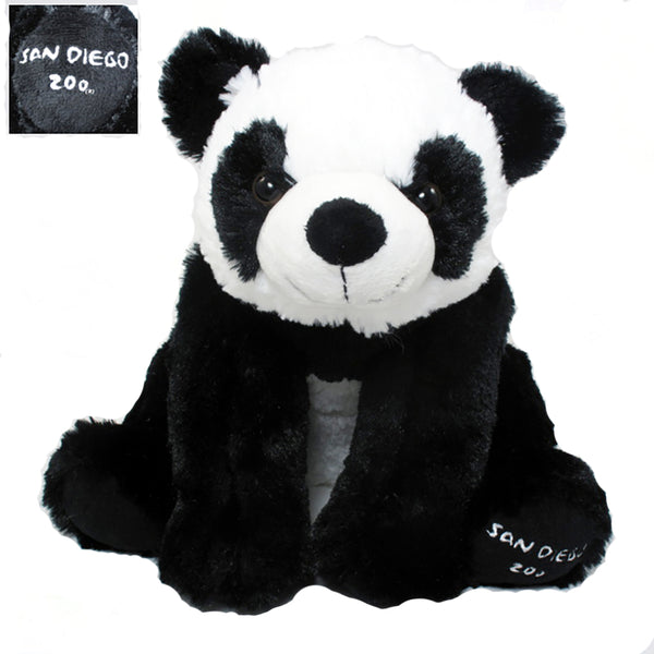 PLUSH PANDA WITH SAN DIEGO ZOO ON PAW