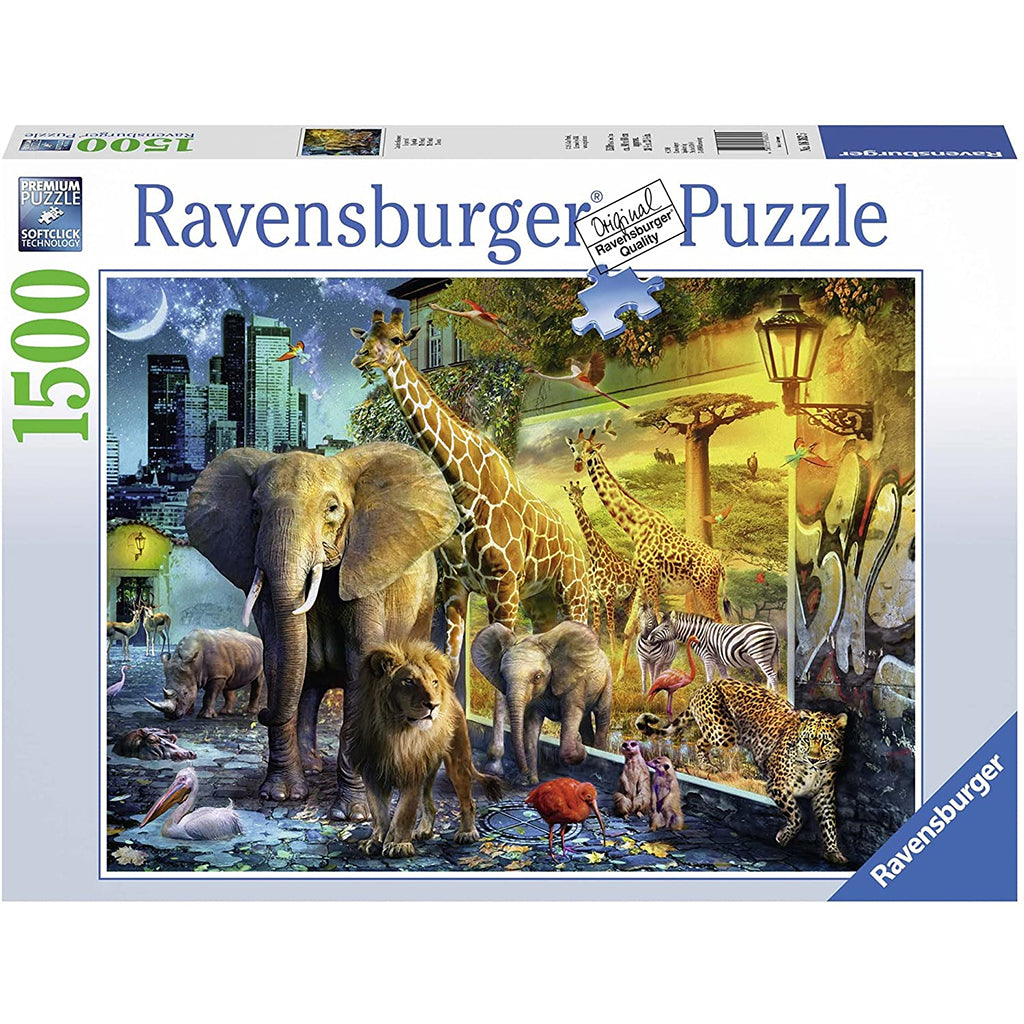 African Animal Portal 1500pc Puzzle