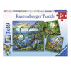 Dinosaur Fascination 3x49pc Puzzle Set