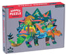 Dinosaur Scene Shaped 300pc Puzzle