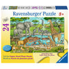Watering Hole 24pc Floor Puzzle