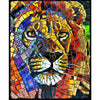Lion Stain Glass 1000pc Puzzle