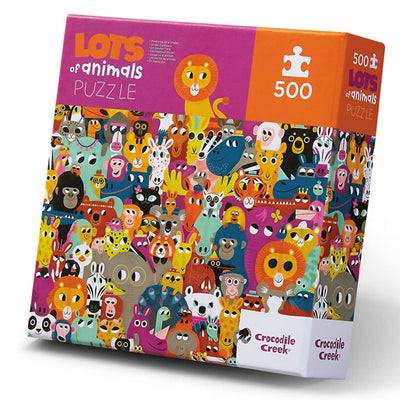 Lots of Animals 500pc Puzzle
