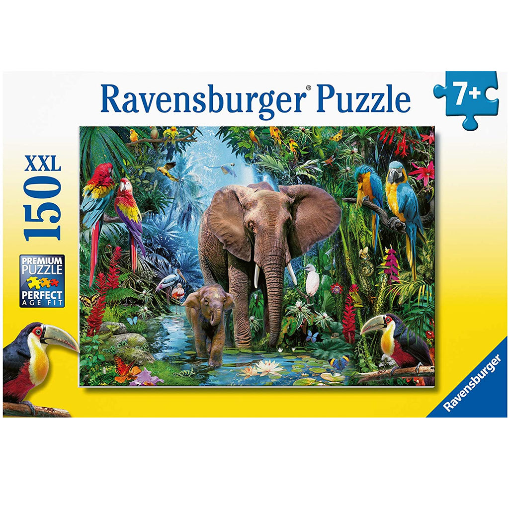 Elephants in the Jungle 150 PC Puzzle