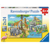 Welcome to the Zoo 2x24pc Puzzle Set