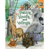 Children's Book/CD: Paws, Hoofs and Wings