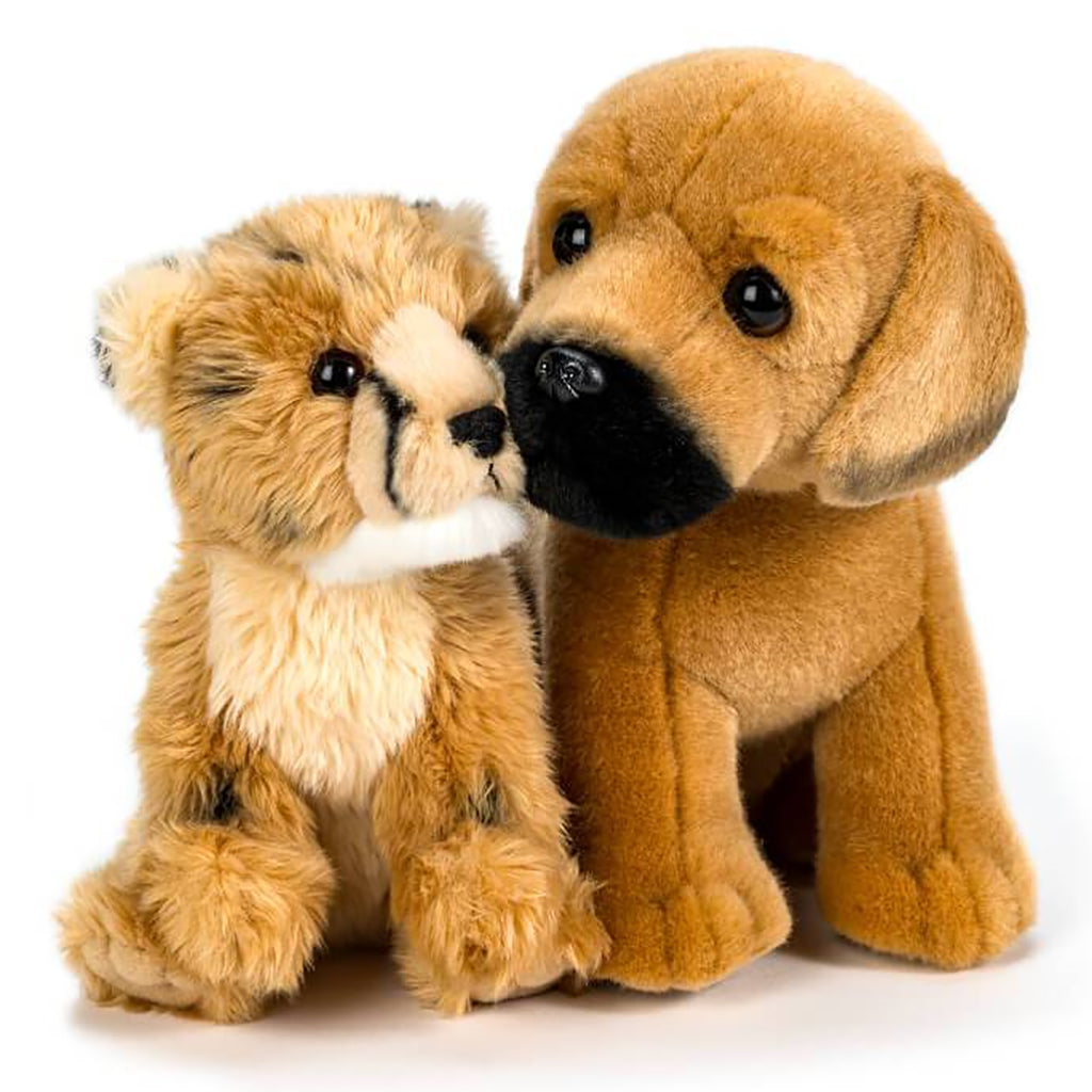 Ruuxa & Raina: Cheetah and Dog Plush
