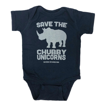 Save the Chubby Unicorns Romper