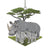 Rhino Babies Ornament