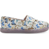 TOMS® Butterfly Print Classic Youth Shoe