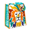 Colorful Lion Head Shopping Tote