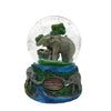 Musical Water Globe – Safari Park Elephant Family
