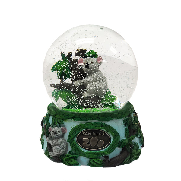 Musical Water Globe – San Diego Zoo Koala Family
