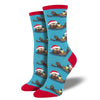 Holiday Otter Women's Socks