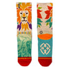 End Extinction Colorful Lion Head Socks
