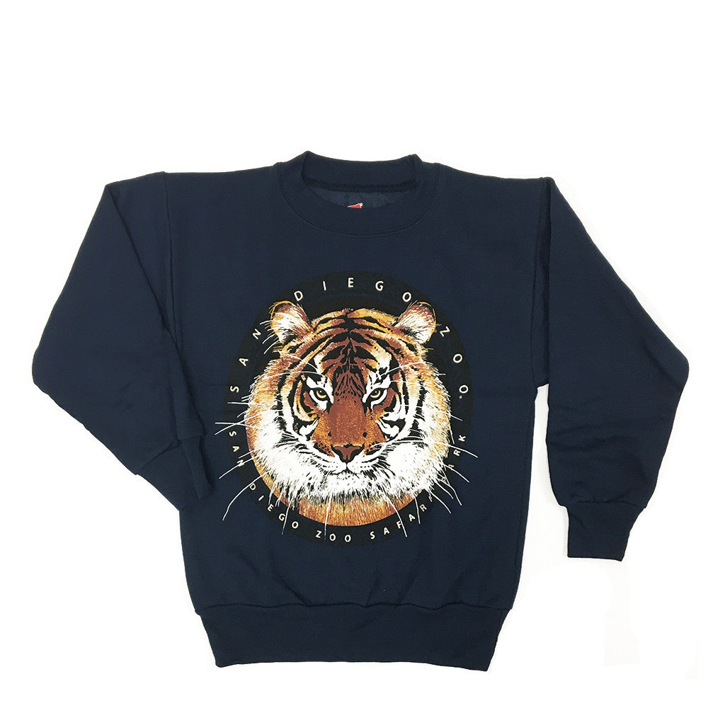 Circular Tiger Sweatshirt Youth
