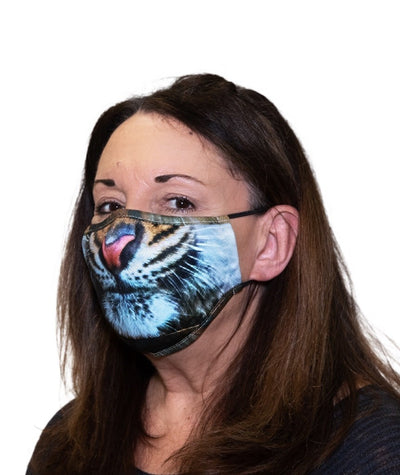TIGER ADULT FACE MASK – PRE-ORDER NOW FOR ESTIMATED DELIVERY END OF JULY