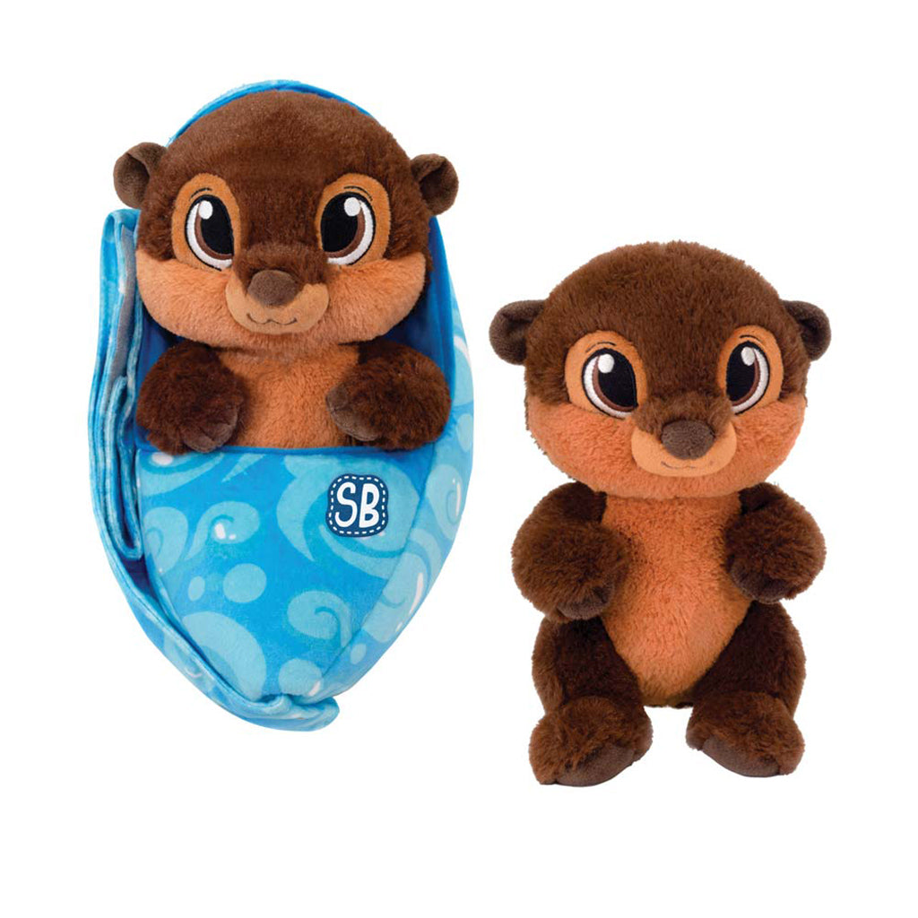 Zoo Babies Plush River Otter