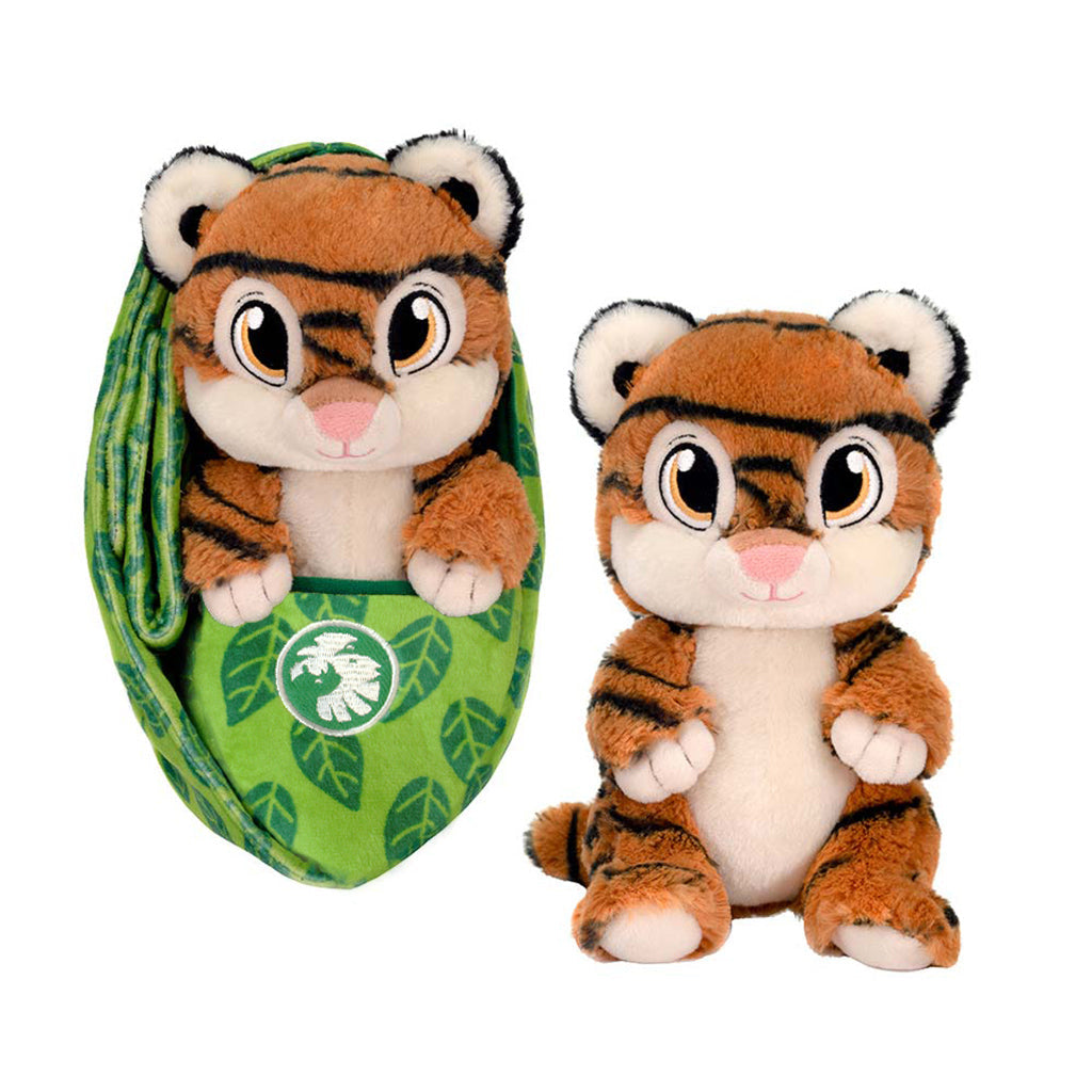 Zoo Babies Plush Tiger