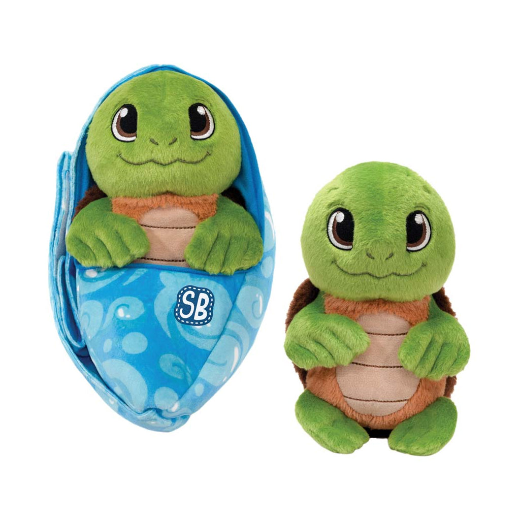Zoo Babies Plush Sea Turtle
