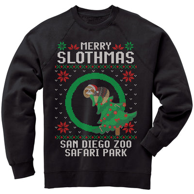 MERRY SLOTHMAS SWEATSHIRT - RESERVE NOW FOR EARLY NOVEMBER DELIVERY