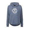 Panda Ladies Hooded sweatshirt
