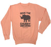 Save the Chubby Unicorns Ladies Pullover