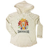 Colorful Lion Head Ladies Hoodie
