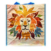 Watercolor Lion Head Shopping Tote