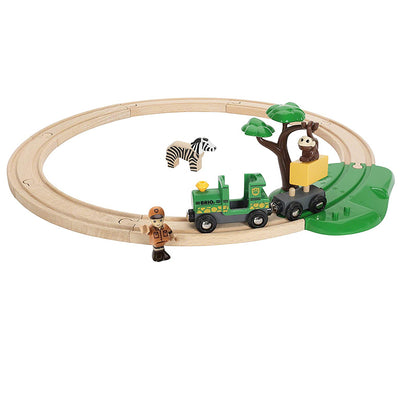 Safari Train Railway Set