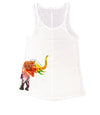 Floral Elephant Ladies Tank