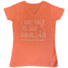 I Was Made To Save Animals Ladies Tee