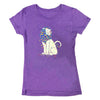 Lion Bloom Ladies T-Shirt