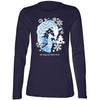 Wild Holidays Ladies Giraffe Long Sleeve Tee
