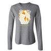 Wild Holidays Ladies Cheetah Long Sleeve Tee