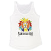 Colorful Lion Head Ladies Tank
