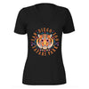 Tiger Sugar Skull Ladies V-neck