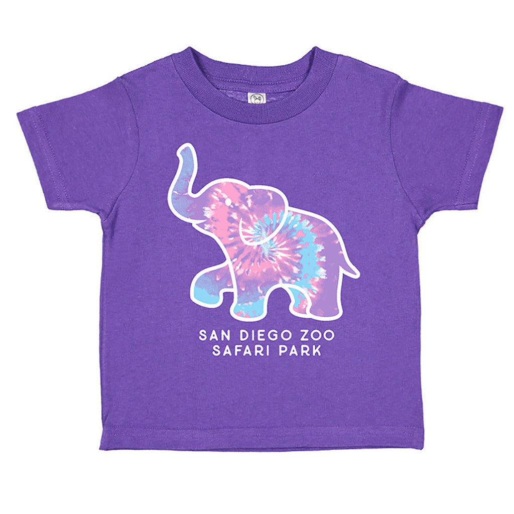 Elephant Kaleidoscope Girls Toddler T-Shirt